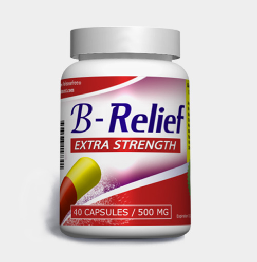 Extra Strength B-Relief (40 Caps) FDA-CERTIFIED
