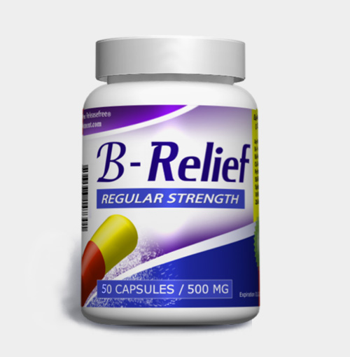 Regular Strength B-Relief (50 Caps) FDA-CERTIFIED