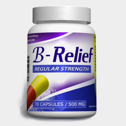Regular Strength B-Relief (70 Caps) FDA-CERTIFIED