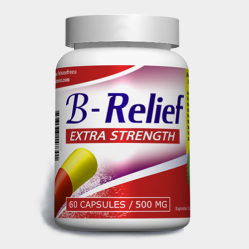 Extra Strength B-Relief (60 Caps) FDA-CERTIFIED