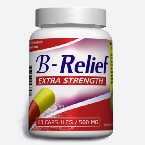 Extra Strength B-Relief (80, 120, 180 Caps) FDA-CERTIFIED