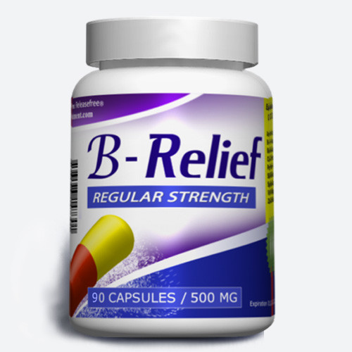 Regular Strength B-Relief (90, 150  Caps) FDA-CERTIFIED