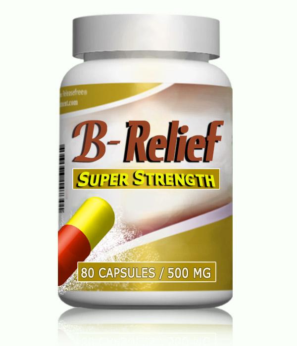 Baker's Knee Cyst SURGERY Natural Alternative B-Relief SUPER Caps: INFO bakerstreatment.com