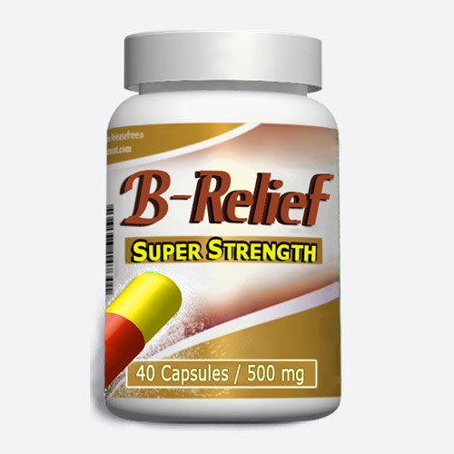 Baker's Cyst Surgery Alternative SUPER STRENGTH B-RELIEF 40 Caps