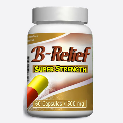 Baker's Cyst Knee Alternative SUPER STRENGTH B-Relief 60 Caps