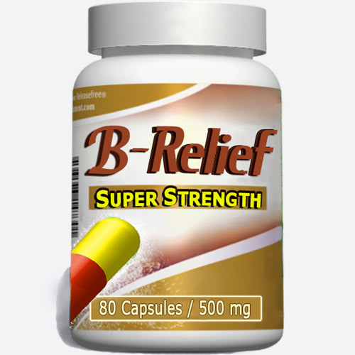 Baker's Cyst Knee Alternative SUPER STRENGTH B-Relief 80 Caps